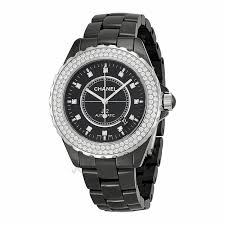10 luxury watches for women asian fusion magazine chanel j12 black diamond dial and bezel mens