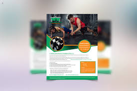 fitness training flyer template by ayme designs thehungryjpeg com