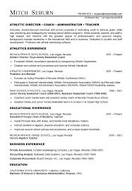 Football Coach Resume Sample Best of Football Coaching Resume Examples Examples Of Resumes