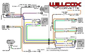 corvette corvette air conditioning schematic willcox 74 air conditioning blower schematic