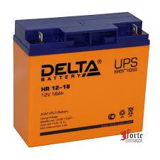 <b>DELTA HR 12-18</b> аккумуляторная <b>батарея</b> Розница /опт спец цены