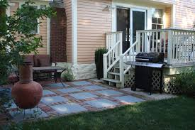 decoration pavers patio beauteous paver: easy paver patio brick patio with fire pit