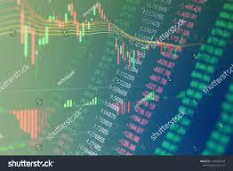 Financial Business Stock Market Graph Chart Stock Photo