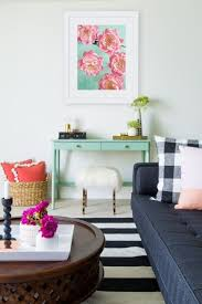 decor office. Patterns, Bold Colors And Bright Decor Are The Perfect Pop Of Color In This Pool Office