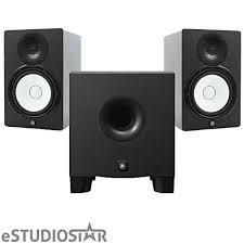 yamaha hs8 studio monitors pair w hs8s
