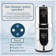 royal berkey water filter.  Berkey Berkey Water Filter Canada Offers Royal For Use At Home With Large  Families  Inside O