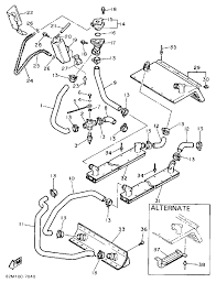 1987 yamaha exciter 570 ex570l radiator hose parts best oem rh bikebandit basic electrical schematic diagrams basic electrical schematic diagrams