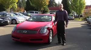 2004 Infiniti G35 coupe review - In three minutes you'll be an ...