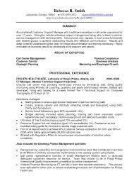 Customer Service Call Center Resume Resume Templates
