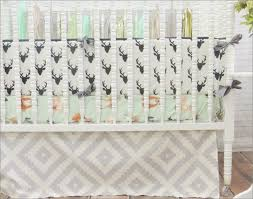 bedding cribs shabby chic diaper stacker hypoallergenic oval lolli living horse woodland crib sets mint green