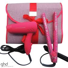 ghd limited edition gift set with hair dryer hair straightener