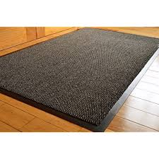 kitchen floor mats. BIG EXTRA LARGE GREY AND BLACK BARRIER MAT RUBBER EDGED HEAVY DUTY NON SLIP KITCHEN ENTRANCE HALL RUNNER RUG MATS 120X180CM (6X4FT) Kitchen Floor Mats C
