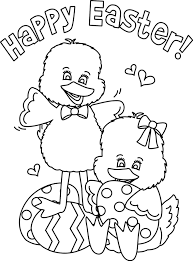 Happy Easter Coloring Pages Easter Coloring Pages Printables