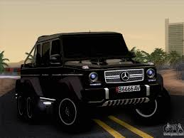 Mercedes-Benz G65 AMG 6X6 for GTA San Andreas