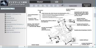 mazda wiring diagram mazda image mazda repair service manuals on mazda 323 wiring diagram