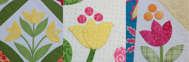 Tulip Tutorial - One Piece at a Time & Since tulips are making an appearance in some of my more recent quilts I  thought I made do a speedy tulip tutorial. After nearly tearing all my hair  out ... Adamdwight.com