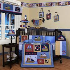 baby boy crib bedding set decor