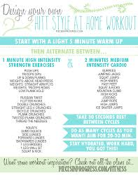Design Your Own Workout Plan How To Design Your Own Hiit Style Workout Fitness