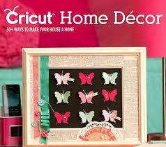 home decor idea book cricut cartridge library