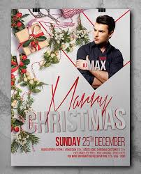 10 Best Free Christmas Party Flyer Poster Design Template