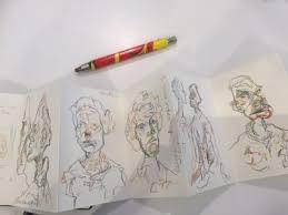 rita lazauskas concertina drawing book