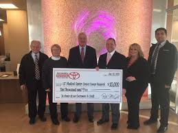 Rick McGill's Airport Toyota donates $30,000 to UT Medical Center ...