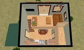 Tiny House Floor Plans Inside Tiny Houses  micro cabin plans