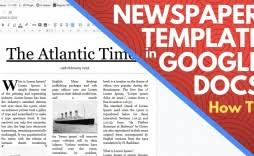 Old Time Newspaper Template Word Impressive Newspaper Template Microsoft Word Ideas Article