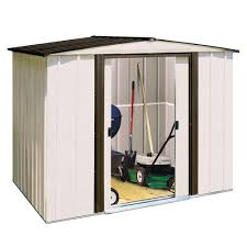 Small Picture Arrow Newport 8 ft x 6 ft Steel Shed NP8667 The Home Depot