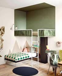 Loft bunk bed kids room Hupehome