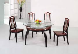 small dining room table. Round Glass Dining Table Set Room Sets Cheap Small Wooden Top Four Chairs Basket Fruit Photos