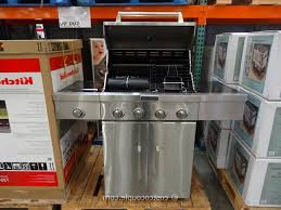 Interesting Kitchenaid 5 Burner Gas Grill Outdoor Grills Inside Design Inspiration