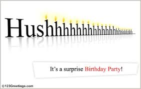Birthday Invite Ecards Surprise Birthday Party Free Birthday Party Ecards Greeting Cards