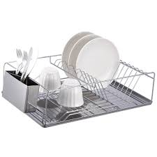 3 advantages of having dish drying rack. This 3-piece Stainless Steel Dish Rack Provides Extra Space For Draining And Drying Dishes. Chrome Finished Wire Features Slots 3 Advantages Of Having