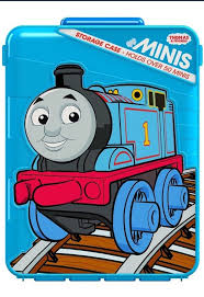 uk stock thomas and friends minis storage case holds over 50 minis trains