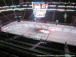 Prudential Center View From Mezzanine 130 Vivid Seats