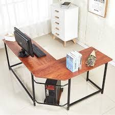Home office corner computer desk Oak Shaped Home Office Corner Computer Desk With Cpu Stand Pc Table Workstation Wood Metal Aliexpress Shaped Home Office Corner Computer Desk With Cpu Stand Pc Table