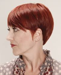 Hair Style For Older Women red hair color and a rounded hairstyle for older women 1203 by wearticles.com