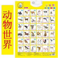 People Children Have Sound Wall Chart Baby Know Animal Fruit