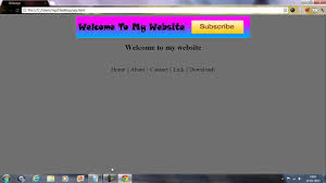 Small Picture How to design a pro HTML website in minutes using notepad UPDATED