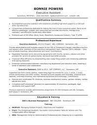 Executive Administrative Assistant Resume Sample Monster For