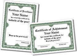 Free Printable Formal Certificate Templates Landscape And Portrait
