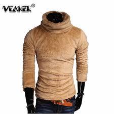 Autumn Men's Velvet Fleece <b>Sweater Pullover</b> 2018 Autumn <b>Winter</b> ...