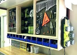 garage tool hangers organizer ideas storage plans wall systems s63