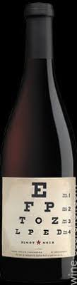 Eye Chart Wines Pinot Noir California Usa