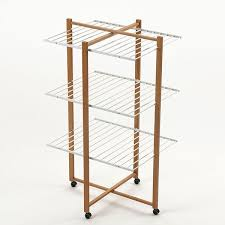 captivating wooden drying rack 30