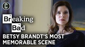 Betsy Brandt Calls This Breaking Bad Scene One of the Best She's Ever Shot  in Her Life - YouTube