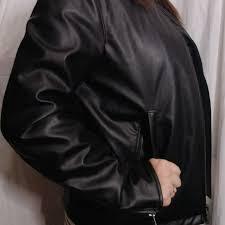 uniqlo faux leather jacket medium men s fashion clothes outerwear on carou