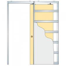 Pocket Door Retrofit Pocket Door Kit 2041plbg Hidden Pocket Door Guide Kit Picture Of