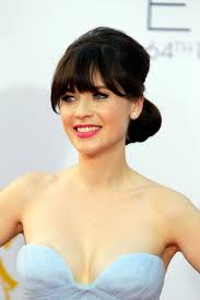 get the look zooey deschanel at the 2016 emmys
